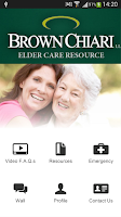 Screenshot of Elder Care Resource App