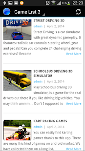 Driving Games - screenshot