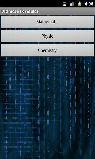 Ultimate Formulas