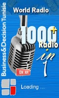 Screenshot of 1000+ Radio