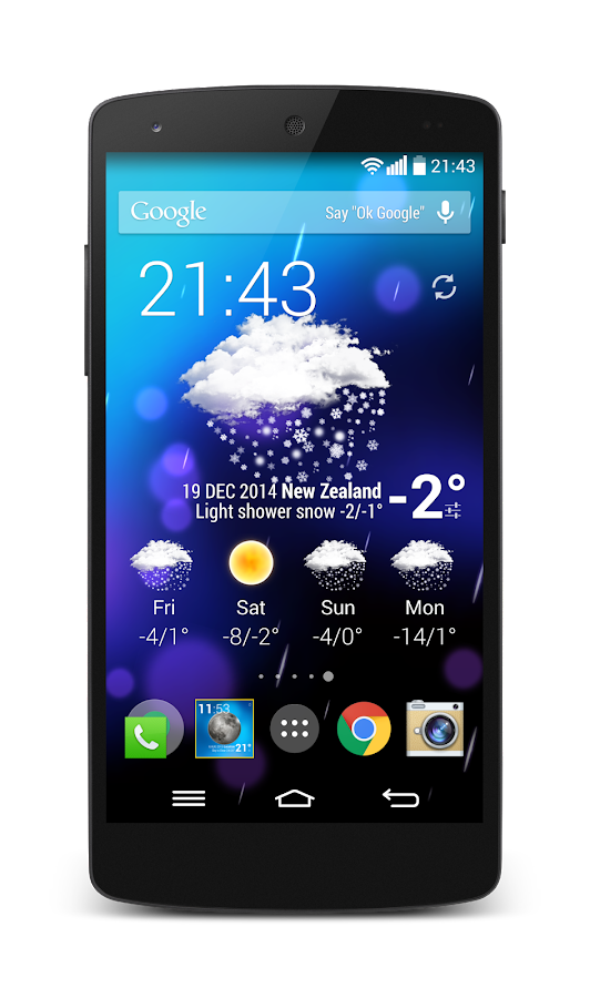 Weather Animated Widgets Screenshot 0
