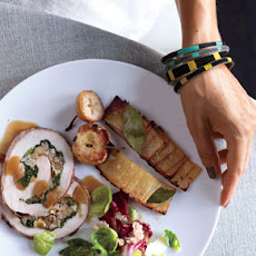 Prosciutto-Wrapped Pork Loin with Roasted Apples