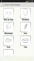 Screenshot of How to Draw People
