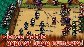 Screenshot of Samurai Defender