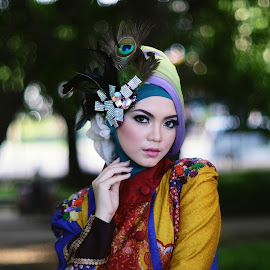 Hijab by Wahyu Laraswanto - People Portraits of Women