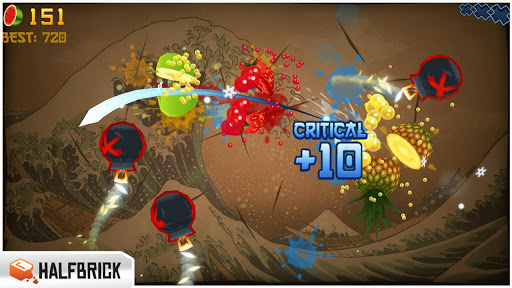 fruit-ninja-free for android screenshot