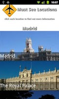 Screenshot of Spain Travel Guide