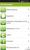 Screenshot of SD Castroverde