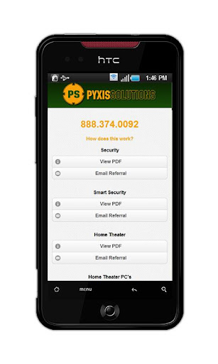 Pyxis Solutions Partners App