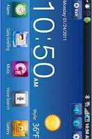 Screenshot of Desk Home Samsung Vibrant 2
