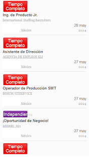 Empleos DF - screenshot