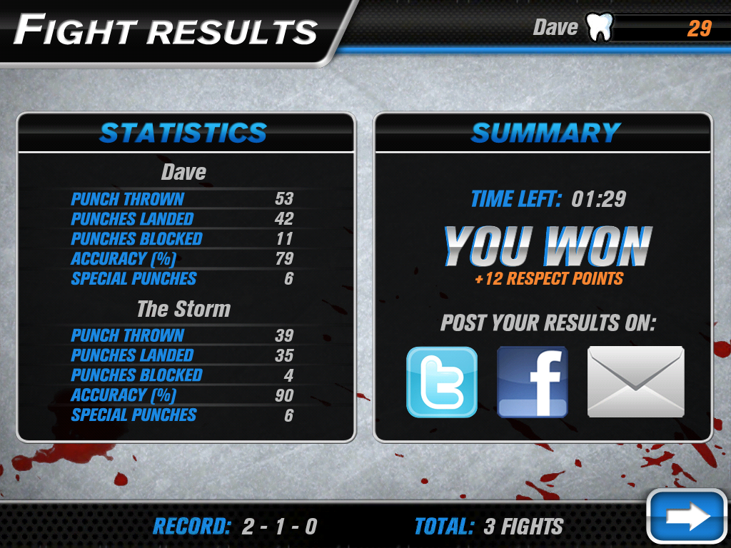 Hockey Fight Pro Screenshot 18