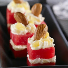 Watermelon Petit Fours