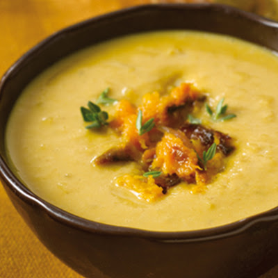 Butternut Squash And Spinach Soup