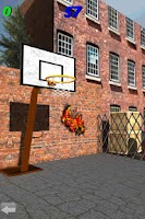 Screenshot of 3D Basketball Shootout
