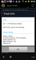 Screenshot of Hymns & Psalms Radio Stations