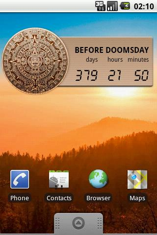 Mayan Doomsday Widget
