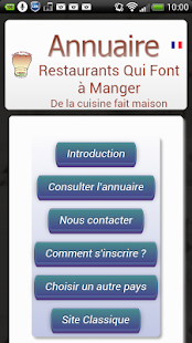 Restaurants Fait Maison FR - screenshot