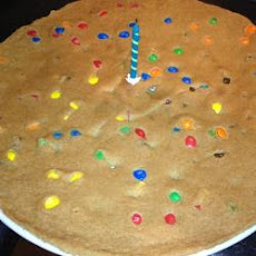 Giant Chocolate Chip Birthday Cookie