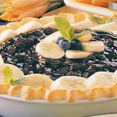 Banana Blueberry Pie