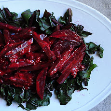Beets in Lime Cream