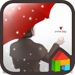 lovely girl dodol theme APK Image