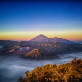 bromo montains by Ferysetya Ma - Landscapes Mountains & Hills