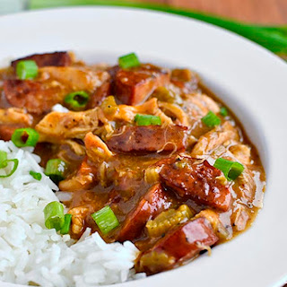 Smoked Sausage and Chicken Gumbo