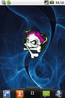 Screenshot of Girly Skull Sticker !!