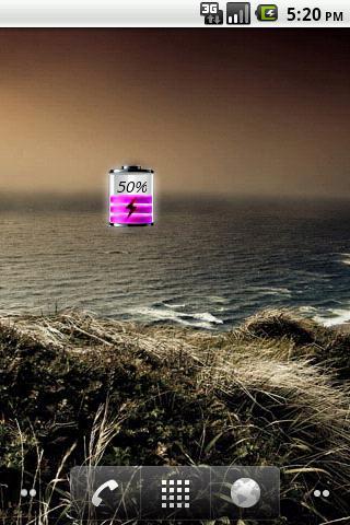 Purple Battery