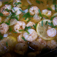 Spicy Shrimp Bake