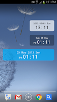 Screenshot of ClockWidget