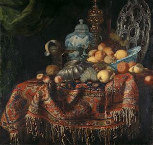 RIJKS: attributed to Francesco Fieravino (genaamd Il Maltese): painting 1680