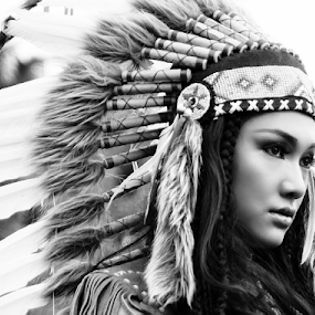 Apache  by Abdy Photoworks - Black & White Portraits & People