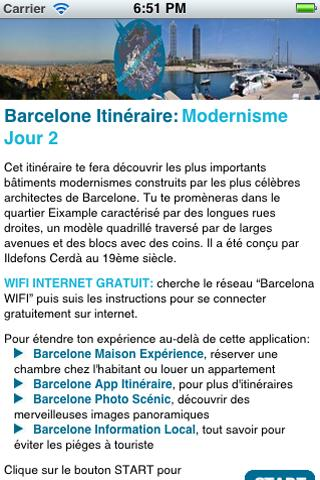 Barcelone Itinéraire Mod-J2
