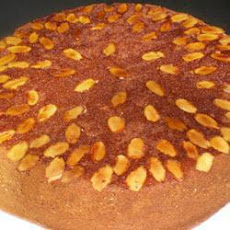 Brandy-Soaked Almond Cake