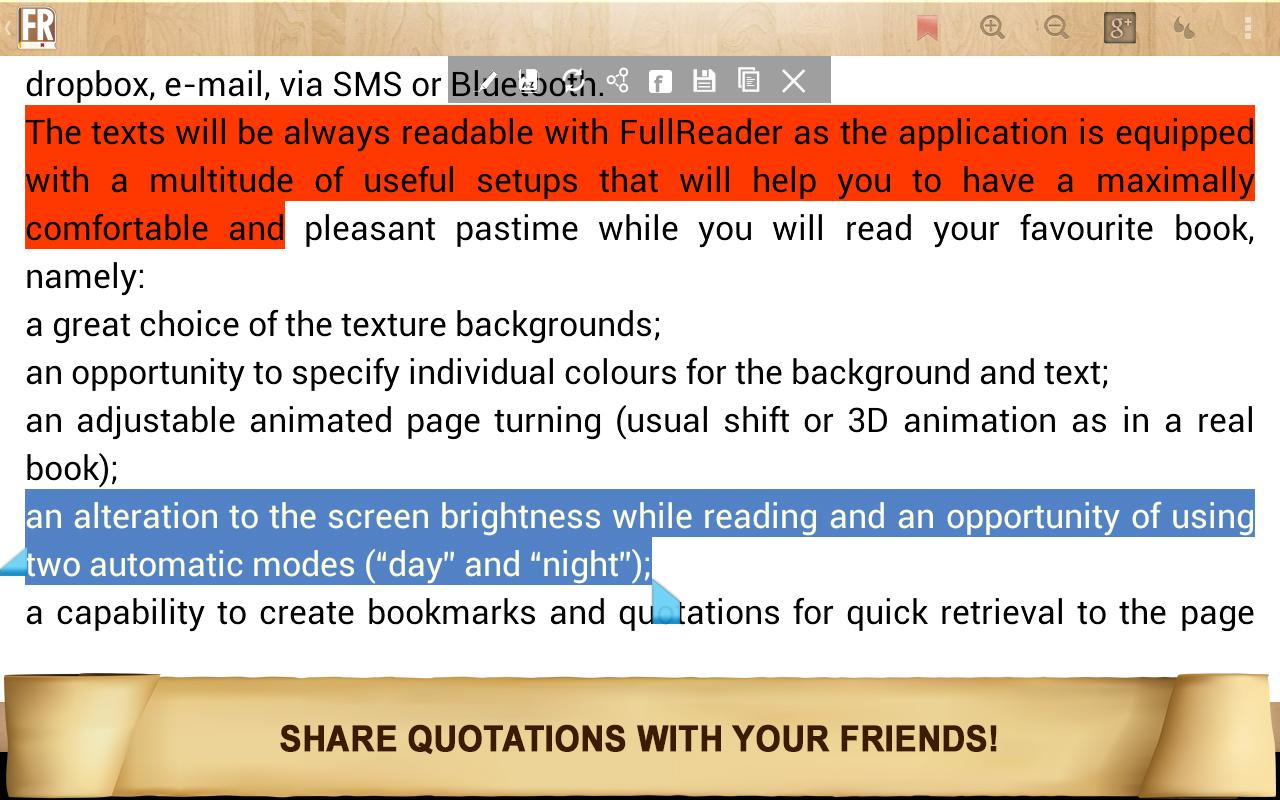 FullReader+ all formats reader Screenshot 10