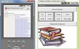 Screenshot of Peoplesoft - PBooks