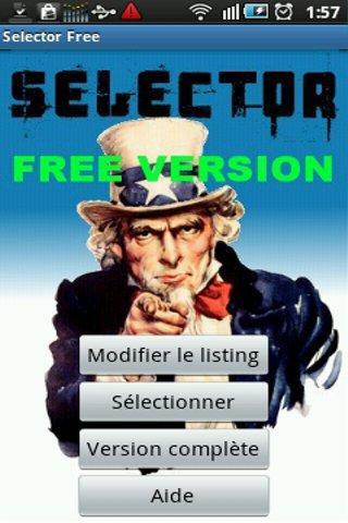 Selector Free
