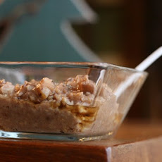 Crock Pot Apple Spice Steel Cut Oats