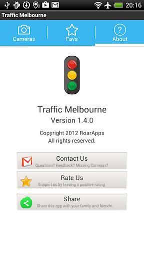 Live Traffic Melbourne - screenshot