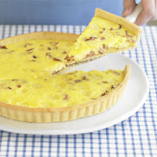 Quiche Lorraine in 4 easy steps