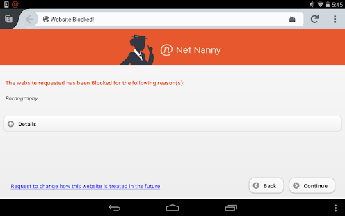 Net Nanny for Android Screenshot