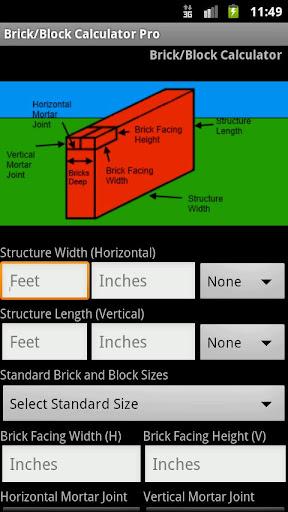 Brick-Block Calc Pro Select