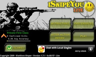 Screenshot of iSnipeYou (Lite)