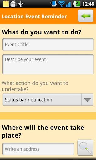 Location Event Reminder