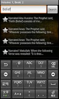Screenshot of Sahih Al Bukhari (Pro)