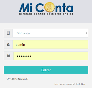 MiConta - screenshot