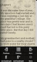Screenshot of Three Short Stories