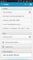 Screenshot of Tiny ERP (Beta)